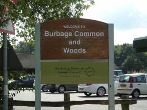 Burbage Common Sign